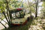 В Вильнюсе с дороги съехал троллейбус