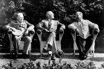 Vinstonas Čerčilis, Haris Trumanas, Josifas Stalinas