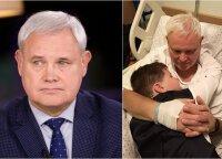 Мэр Клайпеды упал в яму, ему потребовалась операция