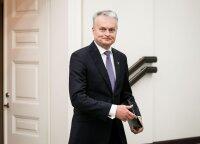 Президент: новые пошлины США вредят Европе, включая Литву, и Америке
