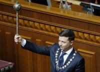 Первая речь Владимира Зеленского в качестве президента