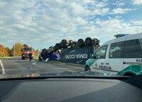 ДТП в Каунасе: серьезно пострадал водитель