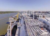 В Клайпеде – первый груз газа из Египта