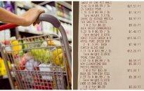 JAV gyvenantis lietuvis: pasižiūrėkite, kiek atsieina apsilankymas maisto parduotuvėje
