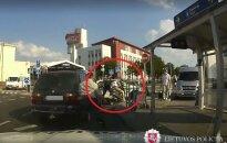 Pijany motocyklista wiózł dziecko