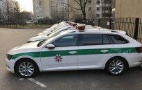 Policijos Škoda Superb