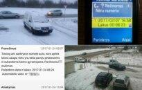 Вильнюсeц сообщил о брошенном авто - его данные оказались у нарушителя