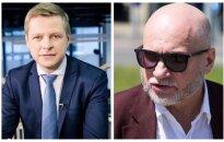 Remigijus Šimašius ir Gedvydas Vainauskas