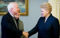 Лучше бы к Путину поехали Маккейн и Грибаускайте