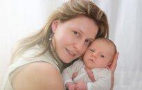 Mama ir kūdikis