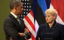 Грибаускайте обсудит с Обамой дополнительные меры безопасности
