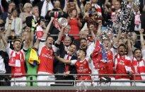 """""""Arsenal"""" triumfas iškovojus Anglijos asociacijos taurę"""