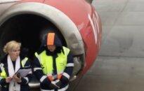 В аэропорту Рига самолет сошел со взлетно-посадочной полосы
