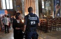 Bažnyčia, kurioje buvo įvykdytas išpuolis