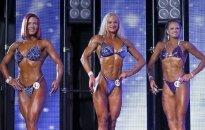 ФОТО: В Латвии прошел конкурс фитнес-моделей