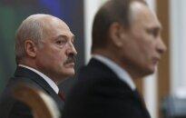 Belarus President A. Lukashenko and Russian President V. Putin