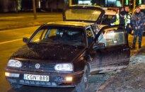 В Вильнюсе - погоня за похитителями автомобиля