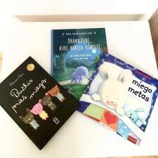 Trys vaikiškos knygelės miego ritualams