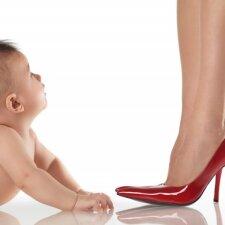 Kūdikį auginanti mama ryžosi įdomiam eksperimentui