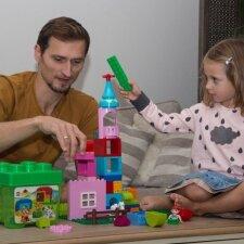 Edvinas Krungolcas – apie tėvystę ir dukrytės lavinimą