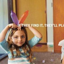 """Šokiruojanti reklama atkreipia dėmesį į vaikų saugumą <span style=""""color: #ff0000;""""><sup>(FOTO)</sup></span>"""