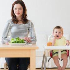 Jauna mama ryžosi iššūkiui – eksperimento rezultatai nustebino