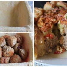 """Pyragas su kukuliais mėgstantiems valgyti skaniai ir sočiai <sup style=""""color: #ff0000;"""">(FOTO)</sup>"""
