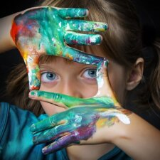 Piešimas lavina ne tik vaiko kūrybiškumą