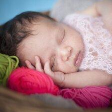 Kaip miegantis kūdikis tapo interneto žvaigžde