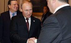 Киев и Москва отрицают, что Путин угрожал Порошенко