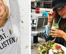 Modelio figūros link: sveika mityba yra geresnė už bet kurią dietą!