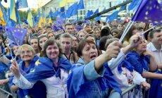 Ukrainos piliečiai ES galės keliauti be vizų