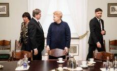 Eugenijus Jovaiša, Dalia Grybauskaitė, Andrius Navickas