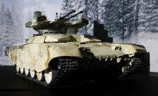 Pėstininkų kovos mašina BMPT-72,  vadinama Terminator-2