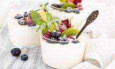 Graikiško jogurto desertas