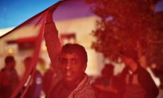 Protestuotojai Libijoje