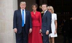 D. Trumpo ir E. Macrono susitikimas