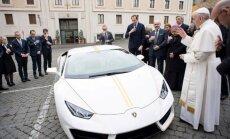 Popiežiaus Pranciškaus Lamborghini Huracan