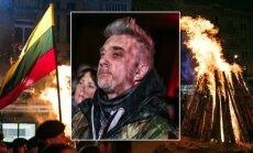 Atminimo laužų ceremonijoje dalyvavęs Andrius Mamontovas