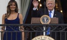 Melania Trump ir Donaldas Trumpas