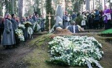 Sauliaus Sondeckio laidotuvės