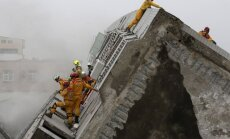 Землетрясение на Тайване обрушило минимум 8 зданий