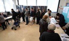 Prancūzija balsuoja prezidento rinkimuose