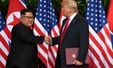 Kim Jong Unas, Donaldas Trumpas