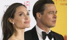 Nauja Brado Pitto mylimoji nušluostė nosį Angelinai Jolie
