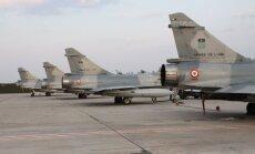 Prancūzijos karinių oro pajėgų naikintuvai Mirage-2000