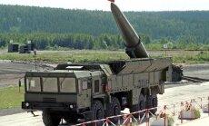 Rusijos raketos Iskander
