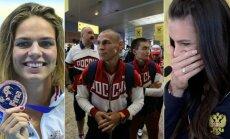 Julija Jefimova ir kiti diskvalifikuoti rusų sportininkai vis dar tikisi, kad galės startuoti Rio de Žaneire