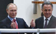 Vladimiras Putinas ir Vitalijus Mutko