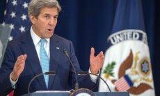 JAV valstybės sekretorius John Kerry